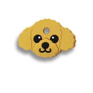 フィールドポイント ドッグ キーカバー(犬の鍵カバー) プードル アプリコット|pet-square