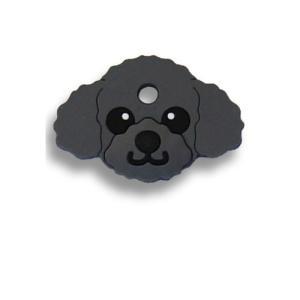 フィールドポイント ドッグ キーカバー(犬の鍵カバー) プードル ブラック|pet-square