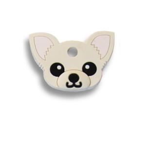 フィールドポイント ドッグ キーカバー(犬の鍵カバー) チワワ クリーム|pet-square