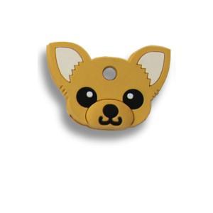 フィールドポイント ドッグ キーカバー(犬の鍵カバー) チワワ レッド|pet-square