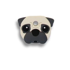 フィールドポイント ドッグ キーカバー(犬の鍵カバー) パグ フォーン|pet-square