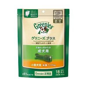 犬 おやつ 正規品 グリニーズ プラス 18本入り (体重7〜11kg)  小型犬用 生後6ヶ月〜の成犬用(グリニーズ プチ)|pet-square