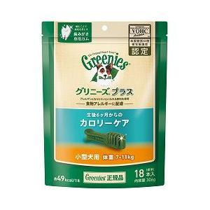 犬 おやつ 正規品 グリニーズ プラス ライト 18本入り (体重7〜11kg小型犬用 生後6ヶ月〜のカロリーケア) (グリニーズ プチ)|pet-square