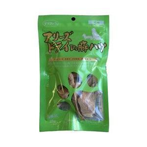ママクック 犬 おやつ フリーズドライの豚ハツ 犬用 25g|pet-square