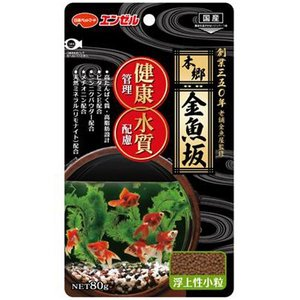 金魚の餌 エンゼル 本郷金魚坂 健康管理と水質配慮 80g|pet-square