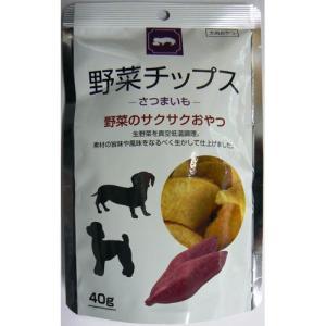 フジサワ 犬 おやつ 野菜チップス さつまいも 40g|pet-square