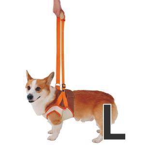 ペティオ 犬の歩行補助ハーネス 老犬 介護 前足用 L 中型犬 介護用品 シニア犬|pet-square