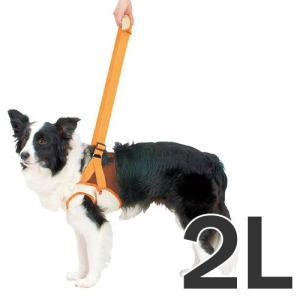 ペティオ 犬の歩行補助ハーネス 老犬 介護 前足用 2L 中型犬 介護用品 シニア犬|pet-square
