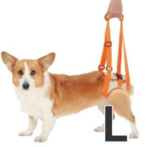 ペティオ 犬の歩行補助ハーネス 老犬 介護 後足用 L 中型犬 介護用品 シニア犬|pet-square
