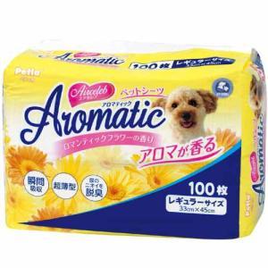 ペティオ ペットシーツ エアセレブ アロマティック ペットシート レギュラー 33×45cm 100枚 トイレシート 犬 トイレシーツ|pet-square