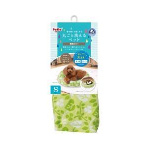 ペット用ベッド 犬 猫 ペティオ 丸ごと洗えるベッド 専用カバー リーフ S 本体別売り|pet-square
