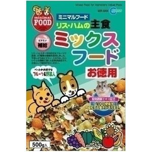 マルカン リス・ハムの主食 ミックスフード お徳...の商品画像