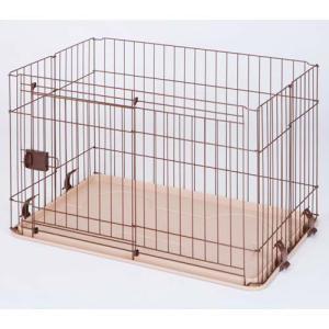 マルカン 犬用サークル フレンドサークル スライドドア M DP-458|pet-square