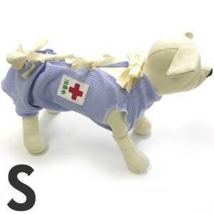 ミュウ&バウ メディカルウェアー(犬の介護服) 治療中 S 傷舐め防止 退院後 犬服 包帯|pet-square