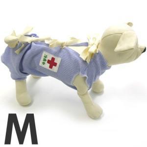 ミュウ&バウ メディカルウェアー(犬の介護服) 治療中 M 傷舐め防止 退院後 犬服 包帯|pet-square