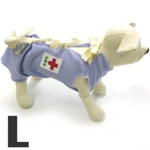 ミュウ&バウ メディカルウェアー(犬の介護服) 治療中 L 傷舐め防止 退院後 犬服 包帯|pet-square