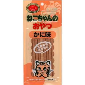 猫用品 ノースペット 猫用おやつ キャミー ねこちゃんのおやつ かに 20g|pet-square