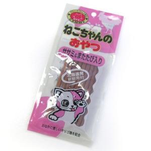 猫用品 キャミー ねこちゃんのおやつ ささみ&マタタビ入り 20g|pet-square