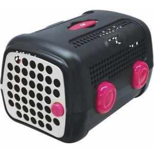 ユナイテッドペッツ 犬 キャリーバッグ キャリーケース オート ダークグレイ シクラメン|pet-square