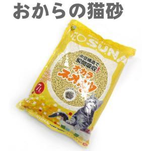 猫用品 コーチョー ネオ砂 おからの猫砂 7L (オカラ)|pet-square