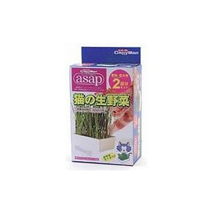 猫用品 ドギーマン asap 猫の生野菜 2回分|pet-square