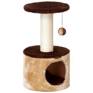 猫用品 ドギーマン キャットタワー キャティースクラッチリビング コンパクトルーム|pet-square