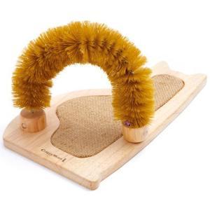 猫用品 ドギーマン 猫用おもちゃ ウッディーキャットーイ すっきりブラシッポ|pet-square