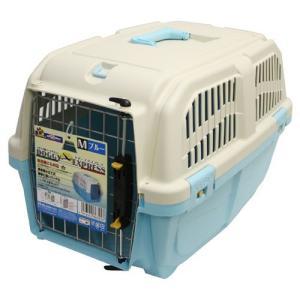 ドギーマン 犬 キャリーバッグ イタリア製ハードキャリー DOGGY EXPRESS M ブルー (キャリーケース)|pet-square