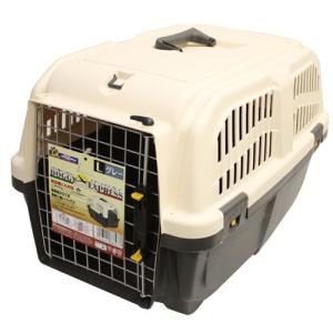 ドギーマン 犬 キャリーバッグ イタリア製ハードキャリー DOGGY EXPRESS L グレー (キャリーケース) pet-square