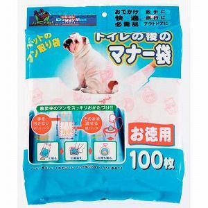 ドギーマン ウンチ袋 トイレの後のマナー袋 100枚 (ウンチポイ うんち処理袋)|pet-square