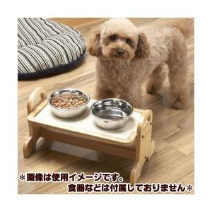 ドギーマン ウッディーダイニング S 高さ調節 食器台 (犬、猫の食事テーブル)|pet-square|02