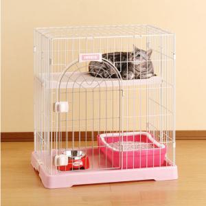 ボンビ サークル コンフォート ミニHi ホワイト (猫 ケージ・ゲージ)|pet-square