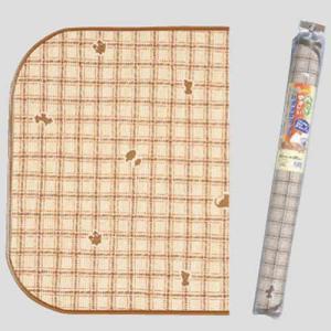 明和グラビア ペット用 防滑・消臭・防水マット INSF-03 ライトブラウン WC 130×190cm|pet-square