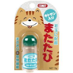 猫用品 イトスイ 猫用またたび コメット キトサン入り またたび 3g|pet-square