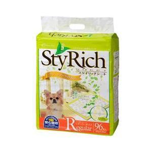 ペットシーツ クリーンワン スタイリッチシート グリーンブーケの香り レギュラー 45×34cm 96枚 ペットシート トイレシート 犬 トイレシーツ|pet-square