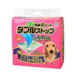 ペットシーツ ダブルストップ ワイド 60×44cm 48枚 ペットシート トイレシート 犬 トイレシーツ|pet-square