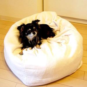 犬 ベッド ペットベッド 低反発 マシュマロクッション 60cm (犬・猫・ペットのクッション、ベッド)|pet-square