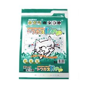 猫用品 青リンゴの香り 猫砂 トフカスRee 7L ペグテック (猫のトイレ砂) pet-square
