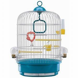 ファープラスト カナリア・インコ用ゲージ セット レジーナ (ピンクもしくはブルー 選べません)|pet-square
