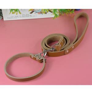 (EC)犬 首輪&リード 牛革のレザーカラー&リードセット S 犬用 幅:1.3cm 首回り:26-32cm(送料無料/代金引換不可/同梱不可)|pet-square|04