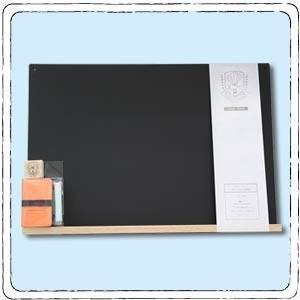 すこしおおきな黒板A3 黒|petapetan