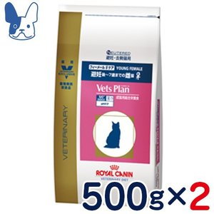 準食事療法食 ロイヤルカナン 猫用 ベッツプラン [フィーメールケア] (ドライ) 500g 2袋セット|petcure-dgs