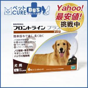 犬用 フロントラインプラス ドッグ L(20〜40kg) 6ピペット〔メール便対応不可〕