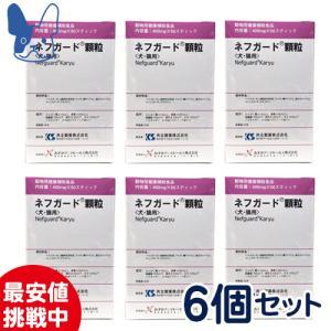 共立製薬 ネフガード 顆粒 400mg×50包×6箱セット まとめ買いが断然お得!|petcure-dgs