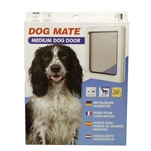 ドッグドア #215W ホワイト 中型犬用 petech