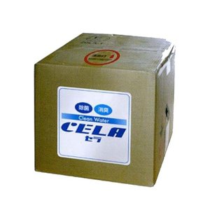 【代引不可】CELA(セラ) 弱酸性次亜塩素酸水 20L キュービテナー