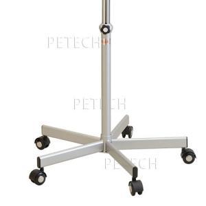 5本脚 スタンド一式 カラー:シルバー(メンテナンス機能付キャスター付き)|petech