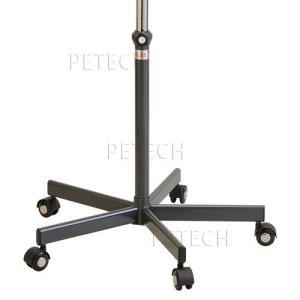 5本脚 スタンド一式 カラー:グレー(メンテナンス機能付キャスター付き)|petech