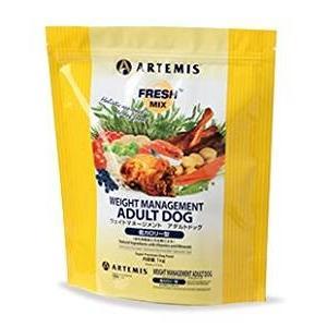 アーテミス フレッシュミックス ウェイトマネージメント&スモールシニアドッグ<小粒タイプ>6kg