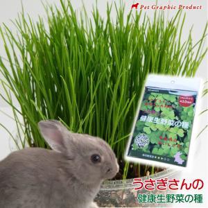 ウサギ 餌 うさぎさんの健康生野菜 <種単品> 生牧草